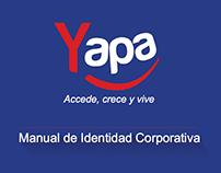 Financiera: La Yapa - Manual de Identidad Corporativa.