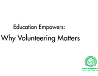 Why Volunteering Matters