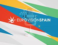 "REDISEÑO ""EUROVISION SPAIN"""