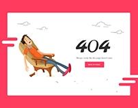Error-404 Design