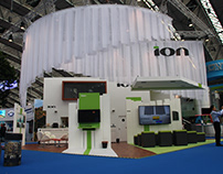 Stand design for ION at EAGE 2014, Amsterdam.