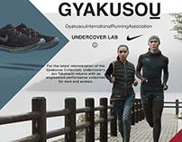 NikeLab Website Design Concept