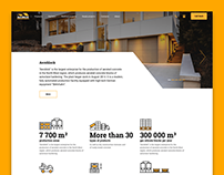 Aeroblock, web-site design