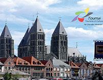 Logo Gagnant Pour L'ASBL Tourisme & Culture de Tournai