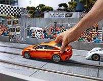 Lexus Slot Car Racing