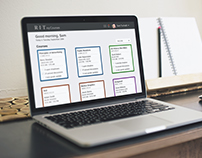 RIT MyCourses | Home, Course, Discussion Page Re-design