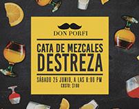 Flyer Don Porfi Mezcalería