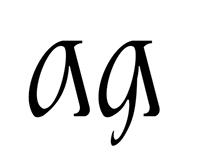Ukrainian font LYBED