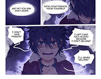 Percy Jackson Cupid Scene ( Fan-comic)