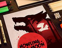 Warewolf Halloween Poster