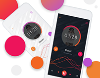 Wave | music player mobile app