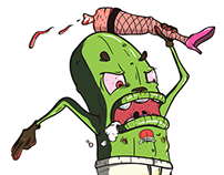 """Stuckers"" - Character Illustrations"