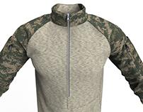 Marvelous Designer Military Combat Shirt