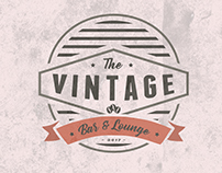 Logo concept for The Vintage - Bar & Lounge/Ferizaj