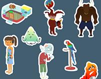Illustration - Jeux en ligne de vocabulaire anglais