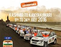 Mahindra Adventure -Kashmir to Kanyakumari 2016