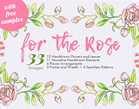 For The Rose - 33 Flowers and Leaves Free Samples
