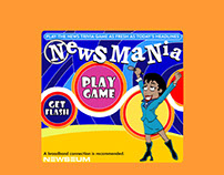 Newsmania - an online trivia game.