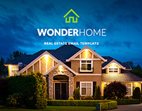 WonderHome - Real Estate Email Template