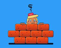 Duro contra el muro