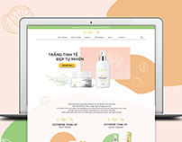 Bianca website - Skin Care