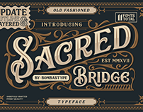 SACRED BRIGDE - FREE DISPLAY FONT