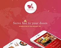 Food Delivery App- Fluper