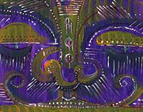 Purple Mask Artwork