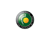 Logo for the corsican tennis league - 2006