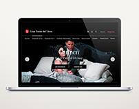 Design proposal for the Teatre del Liceu website
