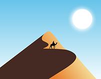 Sand dune animation