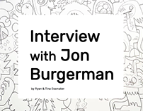 Editorial: Jon Burgerman