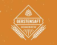 Gerstensaft Homebrew