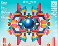 2017 WELTFORMAT KOREA POSTER FESTIVAL official poster