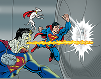 Superman™ and Bizarro Save the Planet