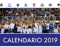 Calendario 2019 Fabriano Basket