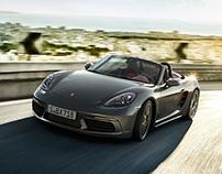 Porsche 718 Boxster - CGI & Retouching