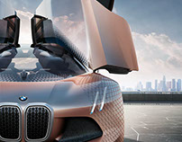 Exterior Design for BMW Vision Next 100 (2016)