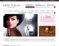 Free Itália New Online Store