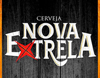 Logo e identidade visual Cerveja Nova Extrela