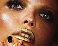 Lips & Smoke  for Schön! Magazine