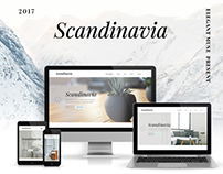 Scandinavia Teplate for Elegant Muse