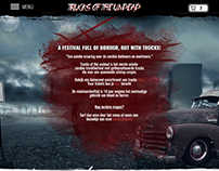 Student project: TOTU truckfestival - website
