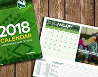 Nedbank Namibia 2018 Desk Calendar