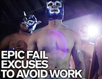 GMP Epic Fail Excuses