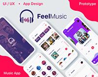 Music App UI/UX