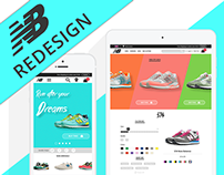 NEW BALANCE Website Redesign