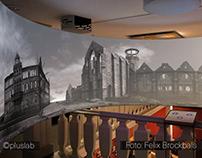 Panoramas of Hildesheim's recreated historical city