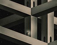 Night Castle Triptych