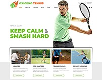 Oxigeno – Sport Club and Team WordPress Theme